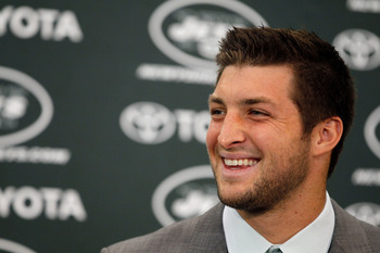Tim Tebow presents a whole new issue for the Jets.