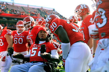Eric LeGrand's spinal-cord injury didn't keep him from living his dream.