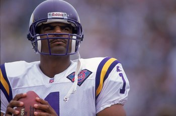Warren Moon played in Minnesota for three years and only once threw more touchdowns than interceptions.