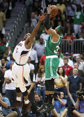 Pierce airballed this potential game winner.