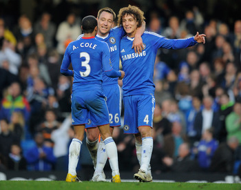 David Luiz and Ashley Cole are the keys defensively for Chelsea in the Champions League Final.