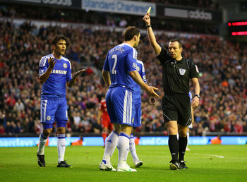 Chelsea are known for belittling referees and diving.