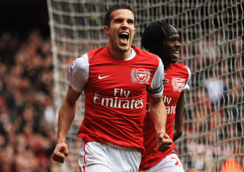 Van Persie's huge tally of goals in 2011/12 will be difficult to repeat... or replace!