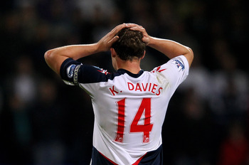 Veteran Kevin Davies might be on his way out of Bolton after a disappointing season