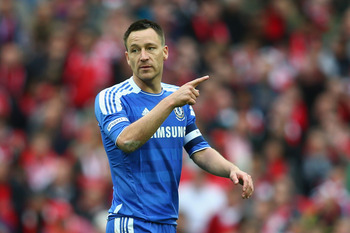 Chelsea and England talisman John Terry has shown signs of fallibility in 2011/12