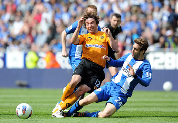 Wolves will be playing in the Championship in 2011/12 - and deservedly so.