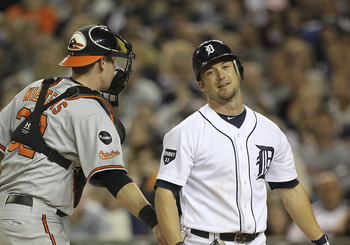 Ryan Raburn has struggled as the Tigers' everyday second baseman.