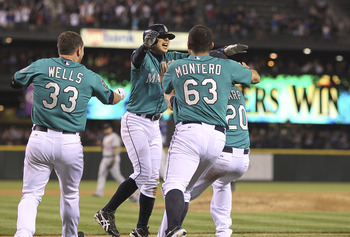 Young Mariners like Jesus Montero help make the future of this franchise a little brighter.