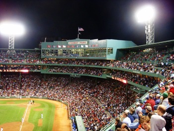 Fenway Park Night Game