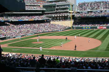 Opening Series at Target Field, 2010