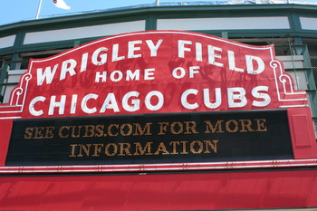 The Marquee of Wrigley Field