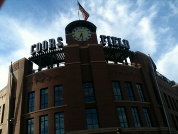 Entrance to Coors Field