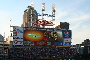 The Scoreboard at Progressive Field