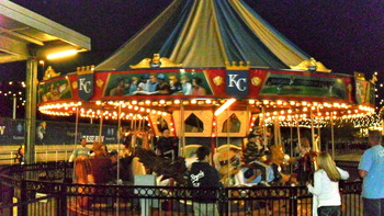 The Carousel at Kauffman Stadium