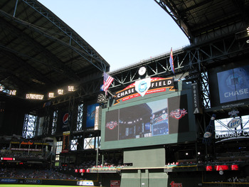 Opening the Roof at Chase Field