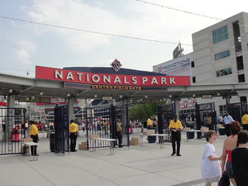 Center Field Gate at Nationals Park