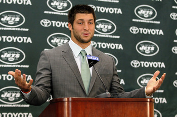 Does Tebow even know what position he'll be playing this year?