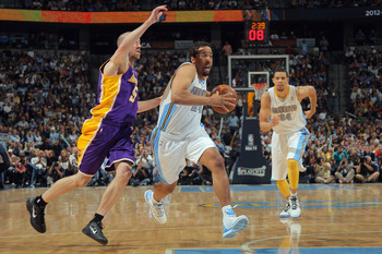 Miller's veteran savvy is helping the Nuggets hang in with the Lakers.