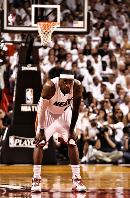 The Heat's fate is in LeBron's hands.