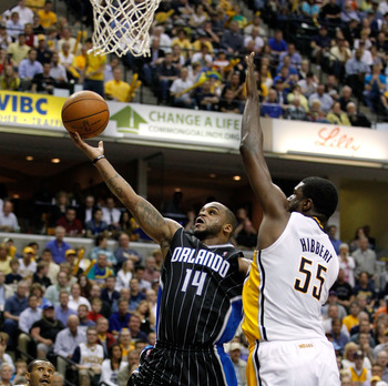 Hibbert can be a giant in the paint.
