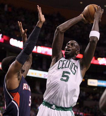 Garnett responded to criticism both on and off the court.