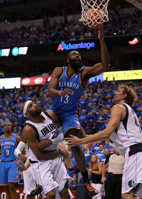Harden's offensive game is irreplaceable for OKC.