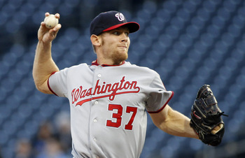 Stephen Strasburg racked up 13 strikeouts in a win over the Pirates Thursday night.