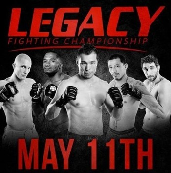 Poster courtesy Legacy Fighting Championships