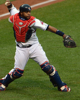 Carlos is one of the league's best young catchers.