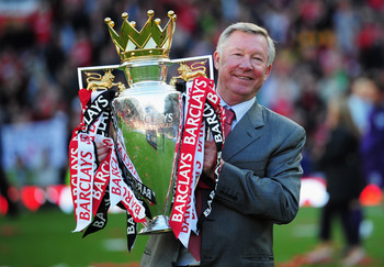 Sir Alex Ferguson: Set to relinquish his trophy?