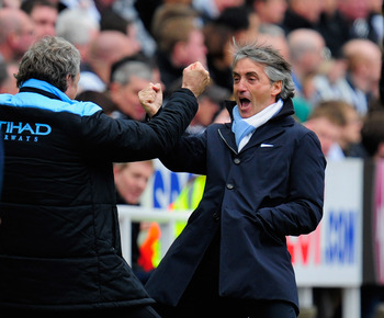 Mancini: Inches away from title glory