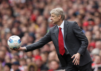 Wenger: Keen to play ball with the big boys