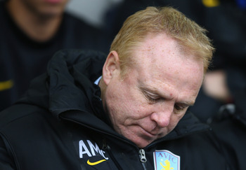 McLeish: Time up at Villa Park?