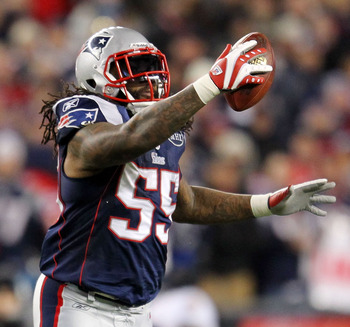 Brandon Spikes found his niche in 2011.