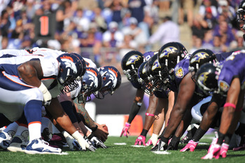 Can Denver withstand the Ravens' nasty pass rush?