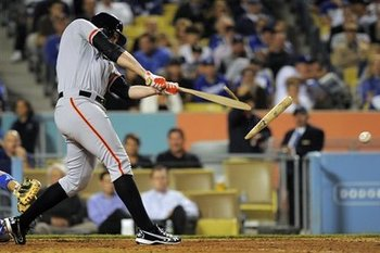 Brandon Belt's broken bat provides an apt metaphor for the health of his team.