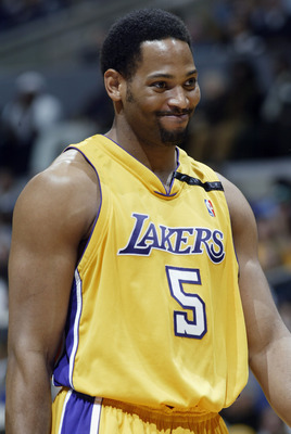Robert Horry in his heyday with the Lakers.