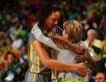 Brittney Griner might be a bad dance partner.