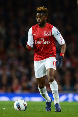 Alex Song is a world-class defensive midfielder.