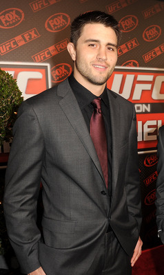 Current UFC interim welterweight champion Carlos Condit.