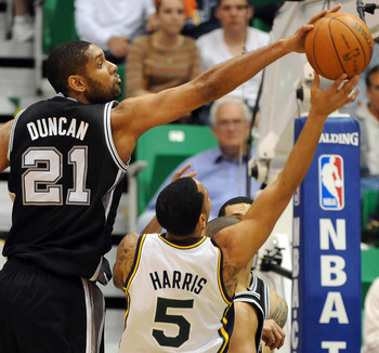 Duncan is Near the Top in Career Shot Blocks
