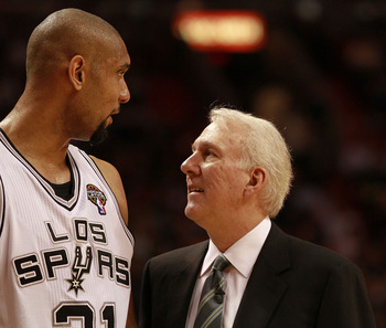Duncan Never Did Anything to Undermine His Coach