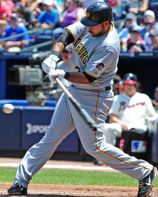 Pirates' third baseman Pedro Alvarez leads the team in homeruns.