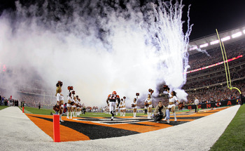 The Cincinnati Bengals hosted the Denver Broncos on Monda Night Football in 2004