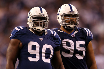 The Colts defensive line does not look ready for 2012.