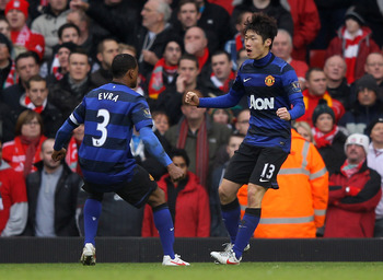 Park Ji-Sung has served United well during his time at the club.