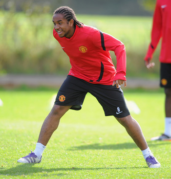 Injuries have prevented Anderson from having a bigger role at Manchester United