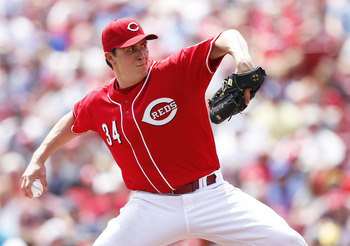 Among Reds starting pitchers, only one has an ERA worse than Homer Bailey's 4.93.
