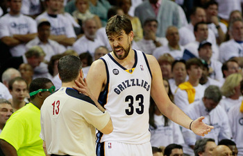 Gasol's got to step up for Memphis to win in the playoffs.
