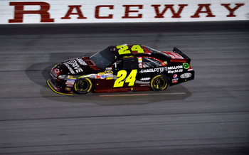 Jeff Gordon had another rough night at Darlington, finishing 35th